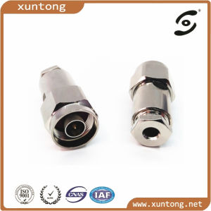RF N Male Right Angle Clamp Type Connector for Rg58 pictures & photos