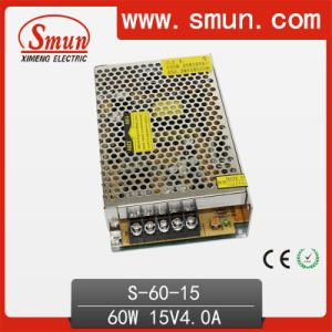 15VDC 4A Power Supply Switching 60W AC to DC pictures & photos