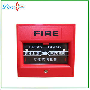 Single Pole Emergency Fire Alarm Push Button Switch DC12V pictures & photos