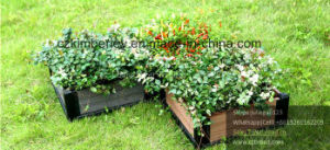 WPC Interlocking Flower Planter for Private Garden Usage pictures & photos