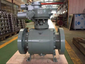A105 Electric Turbine Ball Valve for Industrial Equipment (Q3947Y)