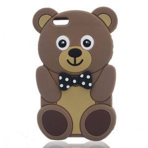 Cartoon Panda Case Silicone Phone Cover for iPhone 7 7plus LG K7 K10 P8 P9 (XS-16070801) pictures & photos