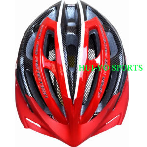 Flashing LED Light Helmet, Female Cycling Helmet, Bicycle Helm pictures & photos