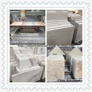 Chinese White/Black Nature Marble Tile for Floor and Steps pictures & photos
