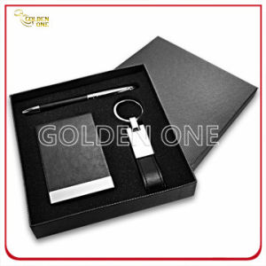 Executive Leather Stationery with Card Holder Gift Set pictures & photos