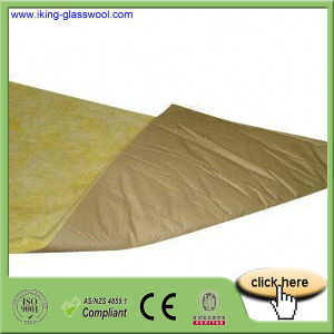 Fiber Glass Wool with Aluminum Foil pictures & photos