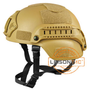 Ballistic Helmet Set Kevlar Nij Iiia with Accessory Rail Connectors pictures & photos
