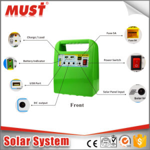 10W Small Solar System Outside Solar 18V pictures & photos
