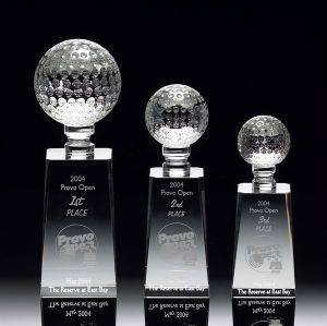 Golf Excellence Crystal Award (#11021, #11022, #11023) pictures & photos