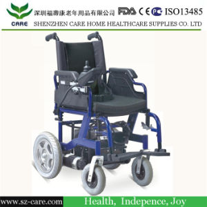 Fold Back Down Durable Electric Wheelchair for Disabled People pictures & photos