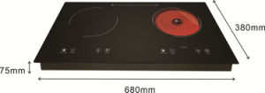 2015 Two Burner Electric Stove Top Manual Induction Cooker pictures & photos