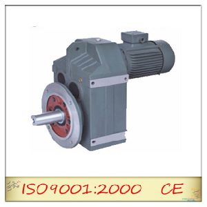 Sf Series Parallel Axes Helical Gearbox for Electric Motor