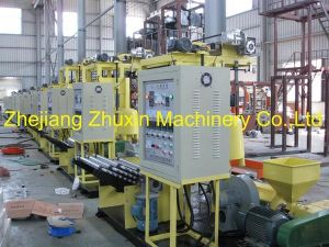 Semi-Auto Winding PE Film Blowing Machine pictures & photos