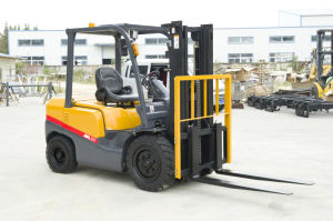 New Forklift CE Certification 3ton Diesel Forklift with Mitsubishi S4s pictures & photos