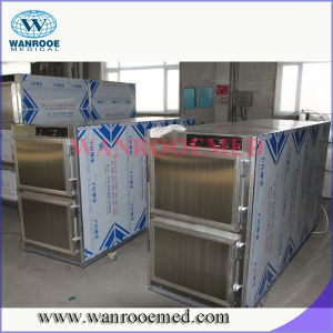 Ga302 Mortuary Refrigerator for Two Corpses pictures & photos