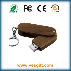 USB Stick Twister Wooden Printed Flash Drive Pendrive pictures & photos