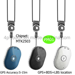 Personal GPS Tracker Device with Sos Button for Help Pm01 pictures & photos