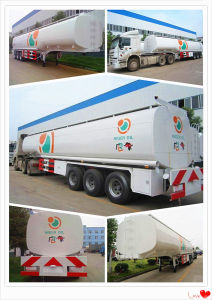 3 Axle Good Quality 50000liter Fuel Tank Semi Trailer pictures & photos