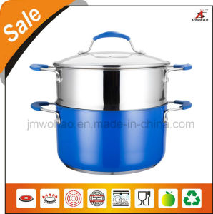 Color Painting Stainless Steel Cookware (FH-SS10)