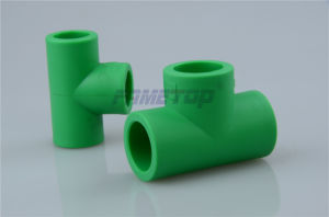 Reducing Tee PPR Pipes Fittings with Lighter Weight pictures & photos