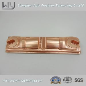 High Precision CNC Machining Copper Part / CNC Brass Part Electrode Component OEM Service