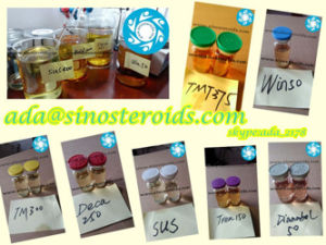 Blend Injectable Steroid Oil Testosterone Sustanon 250 for Bodybuilding SUS250 pictures & photos