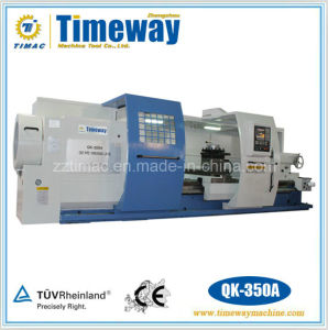 CNC Oil Country Lathe with 14′ Spindle Bore (QK-350A) pictures & photos