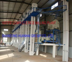 50tpd 100tpd 200tpd 300tpd Rice Milling Plant pictures & photos
