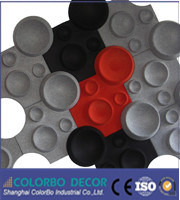 Conferance Polyester Fiber 3D Decorative Acoustic Panel pictures & photos