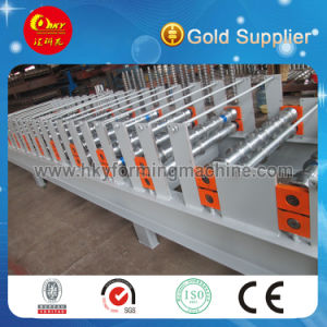 China Golden Supplier Metal Glazed Roof Tile Roll Forming Machine pictures & photos