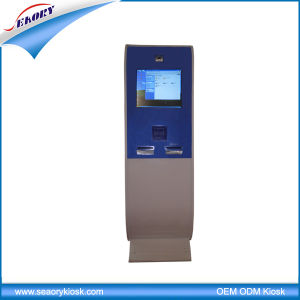 Information Floor Standing Interactive Digital Signage Kiosk Manufacturers pictures & photos