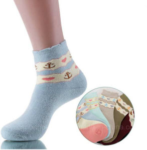 Fashion Colorful Cotton Terry Sock Women Socks pictures & photos