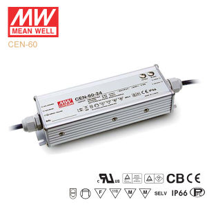 Original Meanwell Cen-60 Series Single Output Waterproof IP66 LED Driver pictures & photos