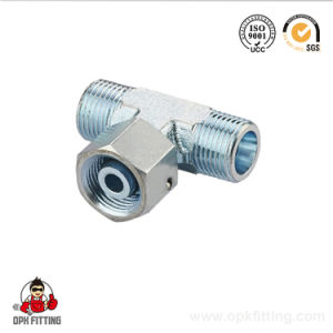 Bsp Male/ Bsp Female Run Tee Hydraulic Tube Fitting (CB) pictures & photos