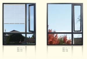 Fuxuan Thermal Break Vertical Aluminum Window pictures & photos