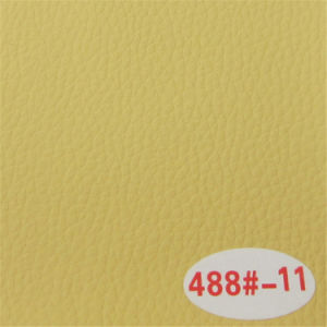 China Wholesale High Abrasion Resistant PVC Synthetic Sofa Leather pictures & photos