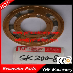 Hydraulic Parts valve Plate for Excavator Kobelco Sk200 pictures & photos