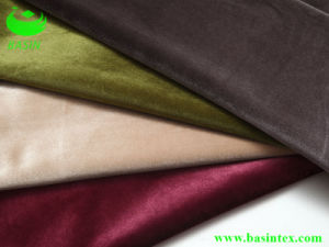 2014 New Polyester Flannelette Fabric (BS2105) pictures & photos
