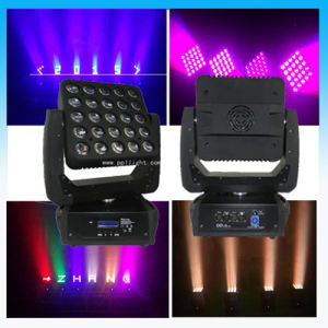 25* 12W CREE RGBW LED Matrix Blinder Light Moving Head pictures & photos