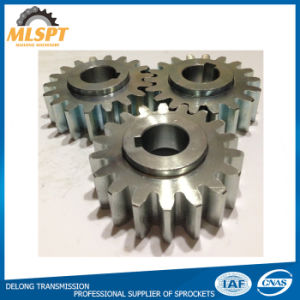 Keyway Steel Small Spur Gear pictures & photos