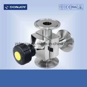 Pneumatic Mini Tee Diaphragm Valve Clamp Connection pictures & photos