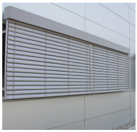 Aluminum Louvre Blind Window pictures & photos