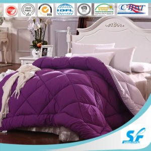 China Manufacturer Cotton Bedding Set Diamond Quilted Comforter pictures & photos