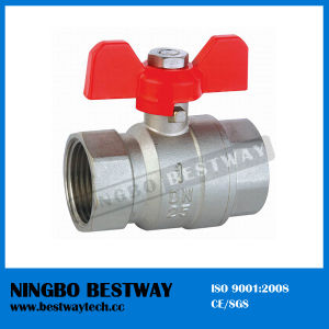 T Handle Flange Brass Ball Valve (BW-B17) pictures & photos