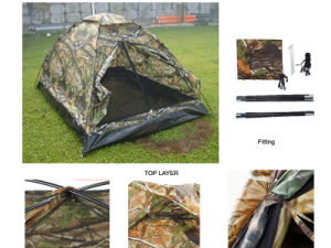 Military Camouflage Camping Tent (HWB-238) for 2 People
