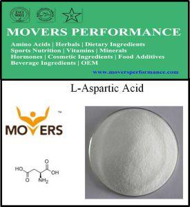 Food Grade Amino Acid Nutrition Supplement L-Aspartic Acid pictures & photos
