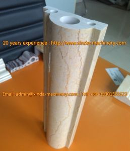 PVC Marble Stone Profile Production Line pictures & photos