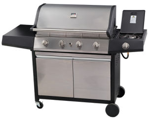 Sylish Design Gas Barbecue Euro Grill Set for Garden pictures & photos
