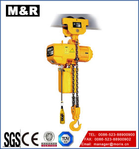 3t Electric Trolley Type Treble Chain Crane Hoist Air pictures & photos