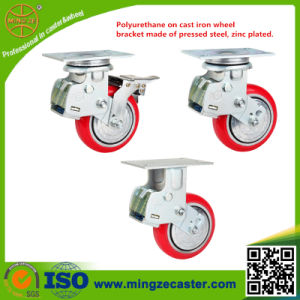 High Shock Absorption Spring Caster Wheel pictures & photos